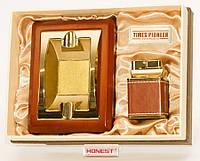 Пепельница и зажигалка (подарочный набор)
