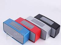 Портативная колонка Bluetooth S815, Аккумулятор/Сеть/USB-порт, стерео, micro USB, AUX-вход, USB мини, FM-приемник, колонка с блютузом S815