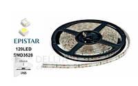 Светодиодная лента SMD3528, 120LED, IP65, 4LM, 9,6Вт на метр, 12В, 6000K, Лента LED светодиодная
