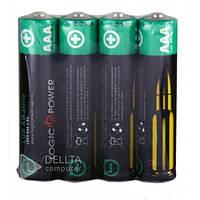 Батарейка LogicPower alkaline LR03 4шт, пальчиковая, 1.5В, батарейка для игрушек LogicPower alkaline LR03 4шт