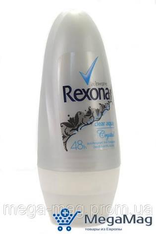 Шариковый дезодорант-антиперспирант REXONA Clear Aqua 50 мл, фото 2