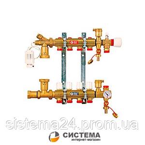 Коллектор для теплого пола GIAKOMINI R557F на 10 выходов