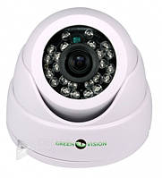 "Камера AHD Green Vision GV-036-AHD-H-DIA10-20, 1/4"" CMOS, PAL/NTSC, 2 Мр, 3D NR, Видеокамера"