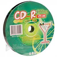 Диск для записи CD-R Kaktuz 700Mb 10шт lime (Цена указана за 1шт)