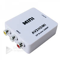 Конвертер AV to HDMI mini