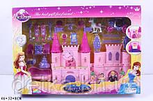 Замок SG-2938 с мебелью куклами батар муз свет