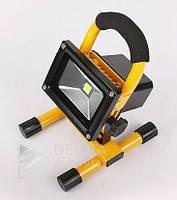 Светодиодный прожектор на аккумуляторе 10W, Наружное освещение