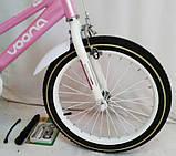 "Велосипед 18"" N-100 Pink, фото 2"