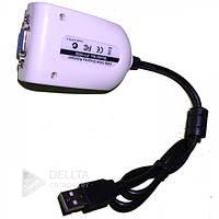 Внешняя ЮСБ видеокарта USB VGA Grafic Card 1920*1080, 1.5Gbps, 48 bit,
