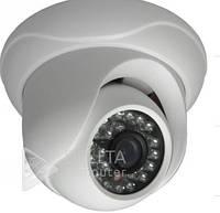 Видеонаблюдение, IP - камера CT-IDM412E1, IR LED, 1/4'' , 1.0 Mega 720P, Ip видеокамера CT-IDM412E1