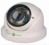 "Камера AHD Green Vision GV-034-AHD-H-DIS20V-30, AHD, 2 МП, 1/3"" CMOS Sony IMX255, OSD, 3D DNR, Камера видеонаблюдения"