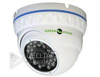 """Камера AHD Green Vision GV-017-AHD-E-DOO21-20, 1 / 2.7"""" OV CMOS, 2.1 MP, 3D NR, ИК подсветка до 20м, Системы IP-видеонаблюдения"""