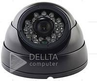 Видеонаблюдение, IP - камера CT-IDM412A, 3,6 мм, LED, 1/4 '' V,  1.3 Mega 720P, металлическая, Камера видеонаблюдения CT-IDM412A