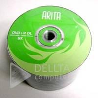 Диск для записи DVD+R ARITA двухслойная 50шт (Цена указана за 1шт)