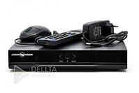 Видеорегистратор стационарный NVR Green, H.264, USB2, Удаленный мониторинг, Hi3520D, 1ch VGA, 1ch HDMI, 12В, 6А, Видеорегистратор NVR Green