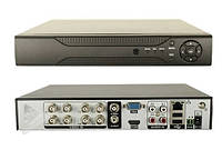 Гибридный видеорегистратор стационарный CT-A7208, AHD, H.264. IOS, Android, P2P, 8-канальный видео вход, Система видеонаблюдения CT-A7208