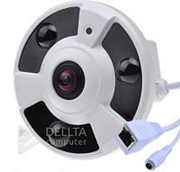 IP камера fisheye CT - 3213, Купольный, 5 Мп, ИК-подсветка, H.264, CMOS, 1.3Мр, Систем IP видеонаблюдения