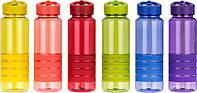 Бутылка для воды Smile разноцветные