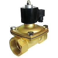 """Электромагнитный клапан прямого действия нормально-открытый, мембрана-Viton (Т -5 150С), Ду 50 (2""""), Ру Air:0~1,0MPa/ Water:0~0"""