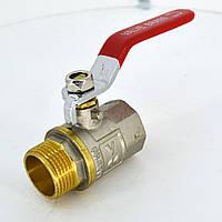 Кран шаровый латунный (муфтовый) VALVE В/Н Ру25  Ду20
