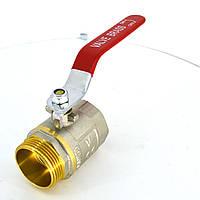 Кран шаровый латунный (муфтовый) VALVE В/Н Ру25  Ду50