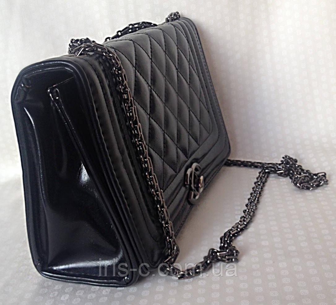 Сумка женская, искусственная кожа, копия Chanel - интернет-магазин