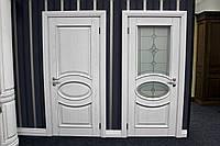 Деревянные белые двери