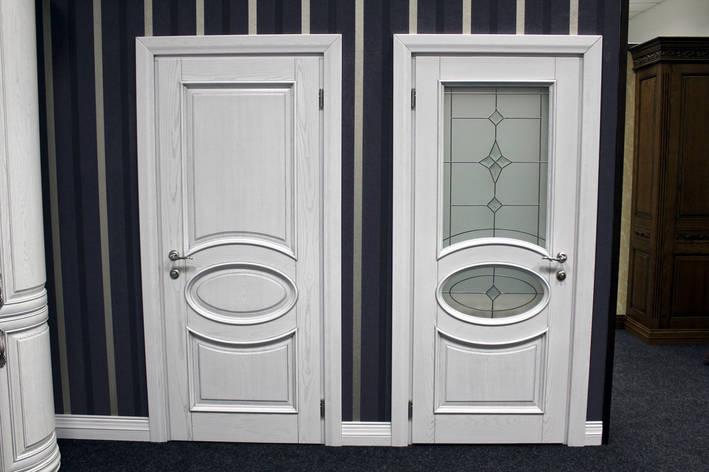 Деревянные белые двери , фото 2