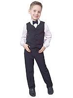 Жилет для мальчика школьный  М-921 от т рост 98-146