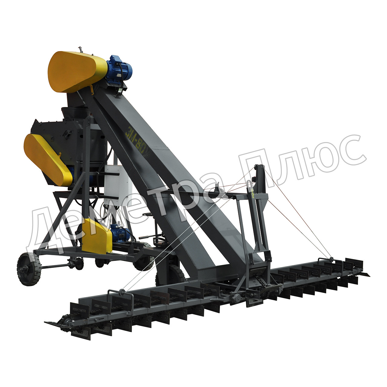 Зернометатель ЗМ-60 (купить зернометатель ЗМ-60, зернометатели зм-60а, зернопогрузчик зм 60), фото 1