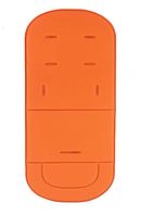 Матрасик - вкладыш в коляску Ярко-оранжевый