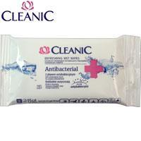Cleanic Влажные салфетки 15шт Antibacterial+ (антибактериальные) 59781