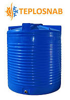 Емкость вертикальная двухслойная узкая RVД 300 У (57х140) 300 литров