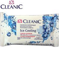 Cleanic Влажные салфетки 15шт Ice Cooling (охлаждающие) 59780