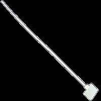 Стяжки Logicpower под дюбель 3mm, NCTH-120x25х100, 100 штук в упаковке