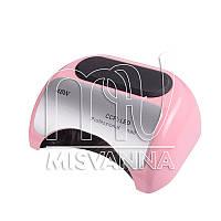 УФ LED+CCFL лампа для гель-лаков и геля 48W Pro-Oure, с таймером 10, 30 и 60 сек. (нежно-розовый)