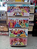 """Комод на 4 ящика с декором """"принцессы диснея""""  Алеана"""