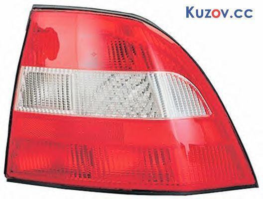 Задний фонарь Opel Vectra B седан/хетчбек 95-99 правый (Depo) красно-белый 90512715