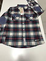"""Детская рубашка для мальчика в клеточку """"wanex"""""""