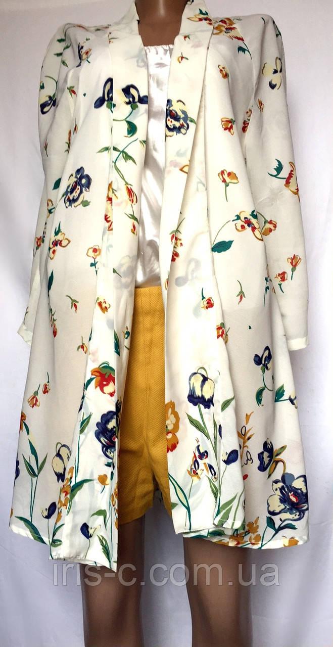 Женская блуза, удлиненная, размер L/XL