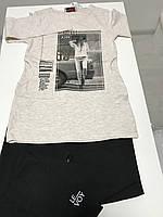 Костюм для девочек, кофта и шорты