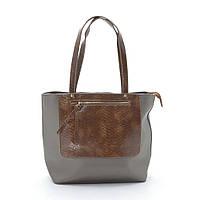 Женская сумка Baliford T626-1 grey/brown