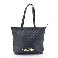 Женская стеганая сумка черная N103