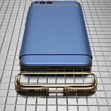 IPAKY Xiaomi Mi 6 Blue 3in1 PC чехол бампер накладка, фото 2