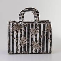 Женская сумка Dior style stripe