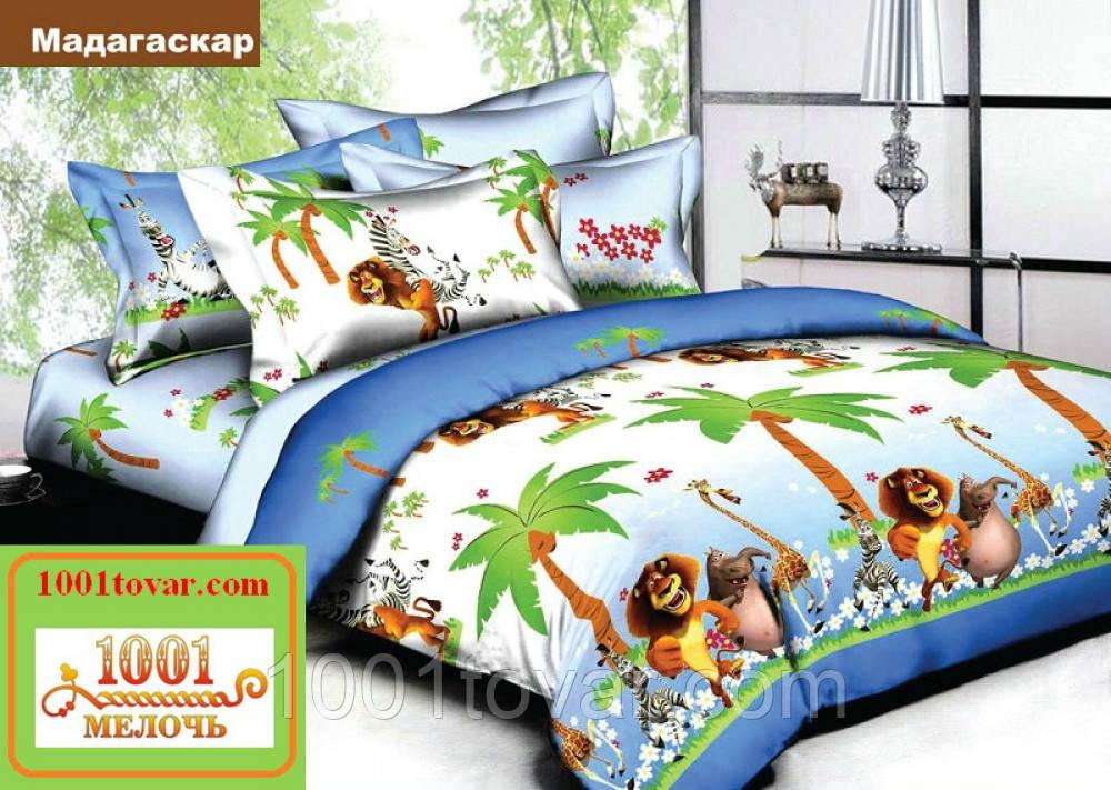 Подростковое постельное бельё Viluta (Вилюта) ранфорс, арт Мадагаскар