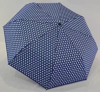 """Женский зонт полуавтомат в горошек от фирмы """"Princess"""""""