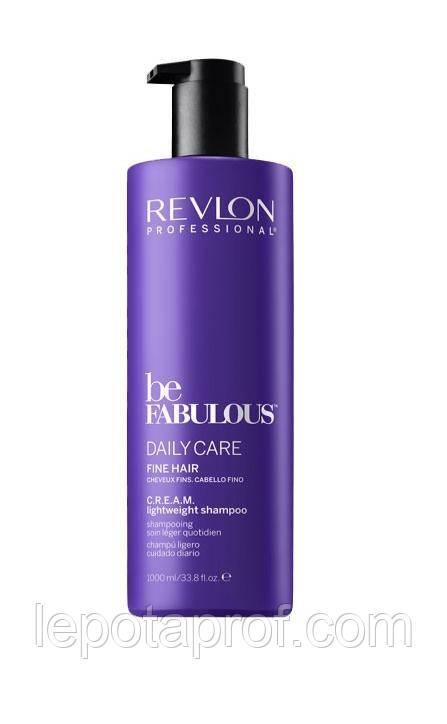 Шампунь для тонких волос Revlon Be Fabulous 1000 ml