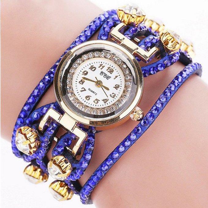 663c5d42f02a Часы браслет женские CCQ синие - Интернет-магазин часов MOBILE TIME в  Кропивницком