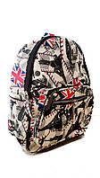 Стильный рюкзак для путешествий с тематическим принтом мод.З 107